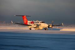 Sundt Air LN-KYV, OSL ENGM Gardermoen (Inger Bjørndal Foss) Tags: norway beechcraft hawker osl gardermoen engm lnkyv