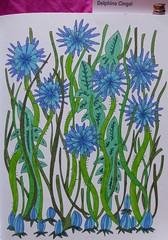 Jardins  colorier de Maud Taron (First ditions) (delphinecingal) Tags: colors couleurs coloring coloriage feutres maudtaron zendessin firstditions jardinscolorier