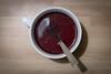 Uno strano thè (Marco Neg.91) Tags: tazza bolle cucchiaio tè thè samsungnx30mmf2 samsungnx30