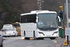 YN12 CSU (Cammies Transport Photography) Tags: road england bus scotland volvo coach edinburgh rugby v panther csu specials unmarked corstorphine plaxton yn12 yn12csu