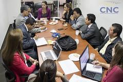 Reunión con Alcaldesa del GAD-M Milagro