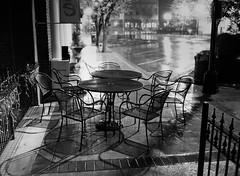 Rainout (TnOlyShooter) Tags: film wet rain night analog tennessee columbia maury ilforddelta3200 mamiya6451000s mamiyasekorc55mmf28 squaremarketcafe filmboxlab