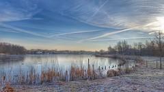 20160118_095952-01 (GemeenteUithoorn) Tags: winter cold holland ice frozen frost bevroren nederland amstel landschap noordholland ijs koud landschappen waterlijn uithoorn zonsopkomst hollandse vriezen dekwakel dorpscentrum molenvaart