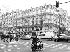 Boulevard de Sebastopol at Rue Etienne Marcel, Paris (Steve Hobson) Tags: paris marcel boulevard rue etienne sebastopol