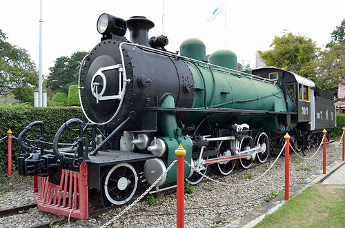 305 Baldwin Steam Locomotive - Hua Hin