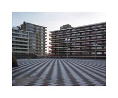 urban landscape (ha*voc) Tags: urban 120 film mediumformat rangefinder 6x7 zandvoort 80mm urbanfragments mamiya7ii fujinhgii800