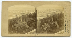 Amemeca [sic] (chemin des Popocatepelt). (SMU Central University Libraries) Tags: mexico cities cityscapes stereograph