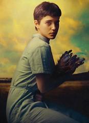 Blanca (Daniel Galan Lorente) Tags: girl yellow painting studio spain fineart indoor fineartphotography