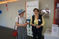 Jane Simpson and Anne Cutler (jocreates2day) Tags: chief marcs investigators coedlfest16