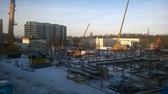 Sdersjukhuset utbyggnad (skumroffe) Tags: hospital construction sweden stockholm sdermalm cranes ncc expansion bygge gruas sdersjukhuset locum grues sjukhus kranar byggarbetsplats utbyggnad binsell binsellistockholm
