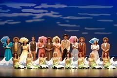 Cowboys, Mermaids & Southern Belles... (R.A. Killmer) Tags: show ladies girls color beauty smile cowboys costume performance guys highschool musical mermaids belle performer bethelpark