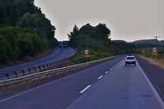 Carretera 5 sur, Región de los Lagos (Agustín Ignacio Nicolás Vera Valle-Lugine) Tags: chile road ruta truck carretera paisaje autopista camiones airelibre 5sur carreteraschilenas