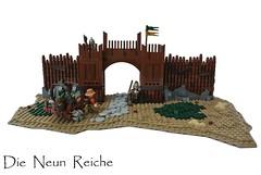 Die Neun Reiche - Outpost (-Balbo-) Tags: die lego lord steine rings creation vikings der rohan neuen moc edoras imperium reiche