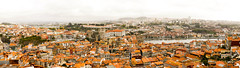 City Panorama (Leni.May) Tags: city travel panorama travelling portugal river high reisen europe tour view sightseeing hills roofs explore porto douro viewpoint exciting cathedrale abenteuer
