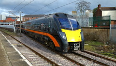Grand Central 180105 (dgh2222) Tags: station class 180 180105 doncaster 1a63