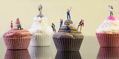 Miniatures on Cupcakes (cuppyuppycake) Tags: camera wedding men dessert miniatures cupcakes nikon wave indoor propose noch d7200