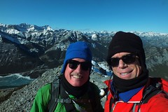 Mount Baldy (north) - Winter summit hike - Summit selfie (benlarhome) Tags: mountain canada trek kananaskis rockies walk hike alberta rockymountain scramble
