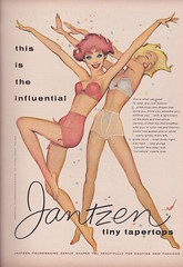 Jantzen 1958 (moogirl2) Tags: vintage retro 1958 50s jantzen vintageads vintageillustration vintagelingerie 59sfashion