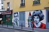 Amélie Poulain (HBA_JIJO) Tags: street portrait urban streetart cinema paris france celebrity art wall painting graffiti stencil view spray peinture rue mur andrey tautou pochoir améliepoulain zabou pochoiriste hbajijo zabousmith
