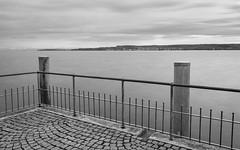 berlinger See (AxelN) Tags: longexposure sky blackandwhite bw lake water clouds germany deutschland see wasser himmel wolken sw bodensee badenwrttemberg lakeconstance berlingen langebelichtung schwarzweis