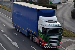 Stobart H2457 PO65 VBP Sangeetha Elizabeth A1 Washington Services 12/2/16 (CraigPatrick24) Tags: road truck washington cab transport tesco lorry delivery vehicle a1 trailer doubledecker scania logistics stobart eddiestobart stobartgroup scaniar450 washingtonservices h2457 tescodoubledecker sangeethaelizabeth po65vbp