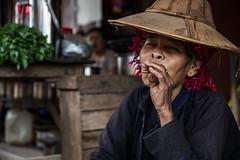Portrait of a Lady-DSC_9133 (thomschphotography3) Tags: woman lady market burma streetphotography myanmar birma hilltribe aungban