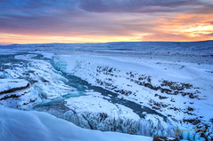 g u l l f o s s  21257 (Philip Esterle) Tags: winter panorama snow ice clouds sunrise dawn landscapes is waterfall iceland rocks skies scenic canyon waterfalls rivers streams skyscapes gullfoss canyons hdr naturephotography goldencircle waterscapes landscapephotography hvítáriver suðerland canyonscapes pentaxk3 fingolfinphoto philipesterle