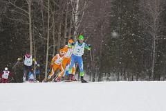Жутко снежная гонка