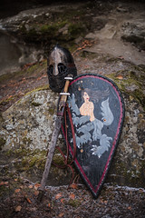 Sword and board. (Kane_North) Tags: viking armour