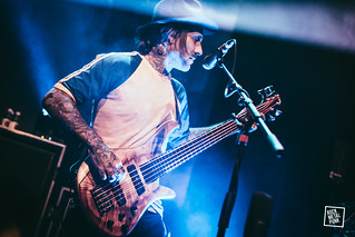 26-02-16 // The Used at Dynamo // Shot by Jurriaan Hodzelmans
