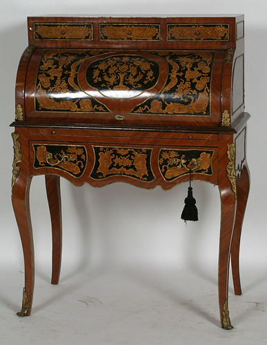 French Desk - $231.00 (Sold February 5, 2016 @ Green Valley Auctions