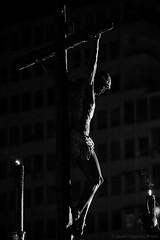 Cristo de Mena (Javier Palacios Prieto) Tags: santa andaluca christ cruz silueta cristo semana mena catolic karwoche cruzifixin
