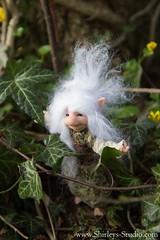 Emelina (Shirleys Studio | Handmade Art Dolls) Tags: shirleysstudio shirleys studio beeldende kunst art artist grotto troll ooak dolls trollen trolletjes boswezens fantasy doll artdoll trol trolls figurine handmade