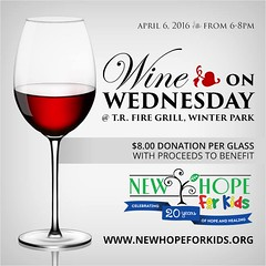 Tonight at TR Fire Grill in Winter Park, please join Fields Auto Group for the final Wine On Wednesday of 2016, from 6-8PM. Choose a glass of wine, compliments of TR Fire Grill with your $8 donation to New Hope for Kids. For more information, visit http:/ (orlandomini) Tags: auto from park new winter usa glass kids wednesday fire hope for orlando with wine please florida united group 8 mini visit grill more your final join cooper april fields donation states 06 tonight information choose tr clubman compliments on 2016 countryman paceman 68pm 0500pm newhopeforkids orlandomini wwwiwantaminicom httpwwwfacebookcompagesp137773706313 fieldsauto wineonwednesday wow2016 httpnewhopeforkidsorgwow trfiregrill httpswwwfacebookcomorlandominiphotosa14742267631312467113777370631310153593622751314type3 httpsscontentxxfbcdnnethphotosxtp1vt10912932742101535936227513147122194810839320581njpgoh6ac24e6e5ca54ca8409c8087f12ab92aoe577df85c