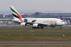 AIRBUS A380 861 Emirates A6-EDG 023 Frankfurt fvrier 2016 (paulschaller67) Tags: frankfurt emirates airbus a380 023 fvrier 2016 861 a6edg
