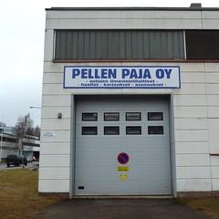 PP (neppanen) Tags: suomi finland helsinki teollisuusalue discounterintelligence roihupelto sampen helsinginkilometritehdas pellenpaja