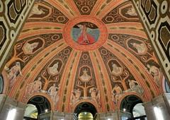Rathaus Dresden (Andr-DD) Tags: art germany deutschland dresden cityhall kunst saxony indoor ceiling decke sachsen rathaus malerei deckenmalerei