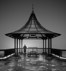 Requiem (vulture labs) Tags: street city urban blackandwhite mist london geometric monochrome fog zeiss photography mood geometry fineart surreal monochromatic symmetry fineartphotography vulturelabs