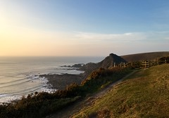 North Devons Coastline at sunset (Seymour Travels Small Group Tours) Tags: england seascape landscape travels europe colours tour unitedkingdom britain traveller devon coastline seymour