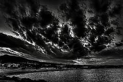 Clouds (Sunset) (Jocarlo) Tags: light sunset sky blackandwhite bw sun art luz sol backlight clouds ngc amanecer adobe nubes photowalk editing genius melilla nationalgeographic specialeffects photografy iluminacin photograpfy afotando flickraward sharingart arttate magicalskies photowalkmelilla crazygenius crazygeniuses pwmelilla blinkagain jocarlo creativephotografy flickrstruereflection1 magicalskiesmick clickofart soulocreativity1 flickrclickx adilmehmood creativeartphotografy
