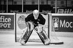 Erik Hanses 2012-03-31 (Michael Erhardsson) Tags: goalie arena if erik sverige 2012 lif svartvitt leksand hanses mlvakt leksands tegera mlis ishockeymlvakt leksinn
