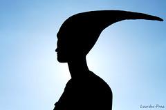 1.Contraluz - La Diosa Noctiluca (Lourdes.Prez) Tags: sky contraluz cielo silueta diosa noctiluna