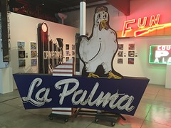 La Palma Chicken Pie Shop (jericl cat) Tags: classic chicken 1955 sign shop museum pie restaurant la closed neon interior mona anaheim palma museumofneonart