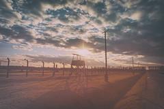 Auschwitz Birkenau (Amren1985) Tags: world travel light sunset camp two analog four concentration war sad hitler young poland jude micro auschwitz amateurs birkenau thirds germans oswiecim gx7 panasonic1235mmf28x