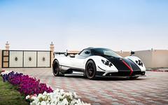 3of5 (Alex Penfold) Tags: red white cars alex car dubai super autos carbon supercar cinque zonda supercars roadster pagani penfold 2016