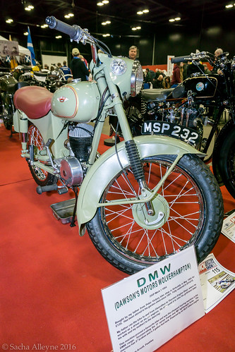 MCN Scottish Motorcycle Show 2016 - 1954 DMW 200P Mark I