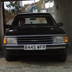 γ (uk_senator) Tags: black ford limo granada 1984 mk2