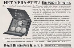 Ihagee Vera-Satz Advertisement (01) (Hans Kerensky) Tags: focus september advertisement 1916 ihagee verasatz verastel