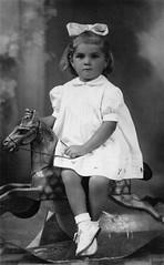 Diana a cavallo (Alfredo Liverani) Tags: portrait bw white black portraits monocromo blackwhite faces bn scan scanned ritratti bianco ritratto nero oldpicture biancoenero volti volto neroamet scandafoto