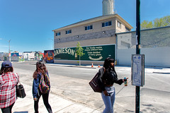 Jameson (Always Hand Paint) Tags: nyc brooklyn advertising mural outdoor spirits ooh handpaint colossal bushwick jameson streetlevel colossalmedia muraladvertising spiritswine skyhighmurals b181 alwayshandpaint kristalindahl jamesoncomplete